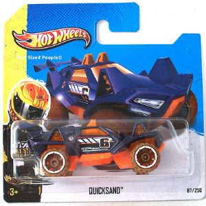Hot Wheels 87/250 Quicksand Diecast Car HW Stunt 2013